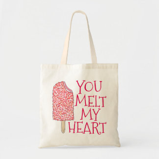 You Melt My Heart Valentine's Day Popsicle Tote