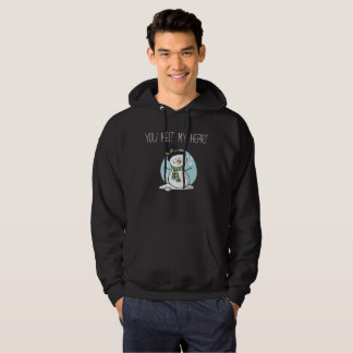 You Melt My Heart Winter Boyfriend Girlfriend Hoodie