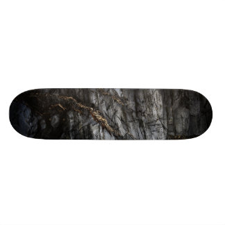 You melted my heart and it ran in rivers of gold skateboard deck
