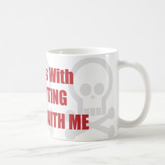 You Mess With Accounting You Mess With Me Classic White Coffee Mug