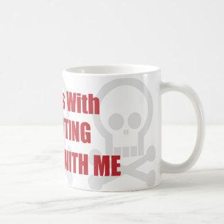 You Mess With Accounting You Mess With Me Coffee Mug