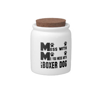You mess with my Boxer Candy Jar