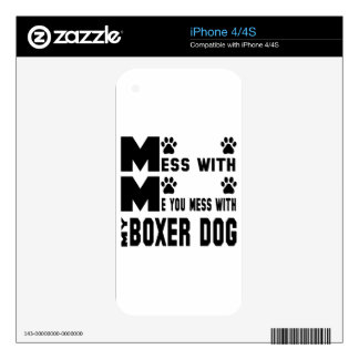 You mess with my Boxer Decals For The iPhone 4