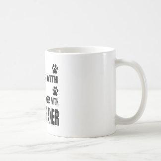 You mess with my Weimaraner Coffee Mug