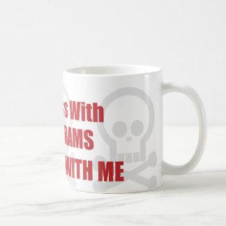 You Mess With Sonograms You Mess With Me Coffee Mug