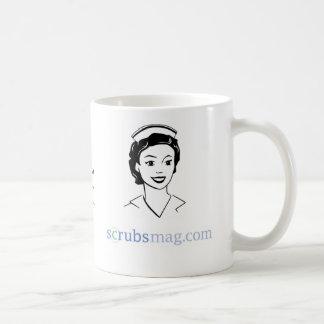 "You might be an ""ol' school"" nurse if… classic white coffee mug"