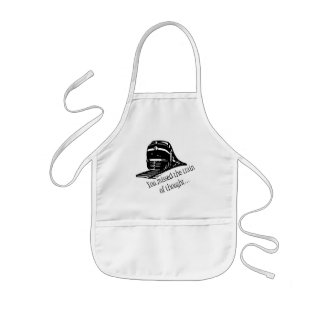 You Missed The Train Of Thought... Kids' Apron