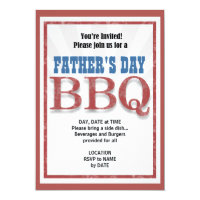You Must Come Father's Day Party Invitation