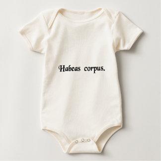 You must have the body. baby bodysuit