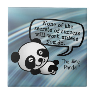 You must work for success tile