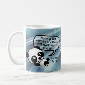 You must work hard for success coffee mug
