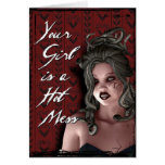 You Need a New Girl, Like Me! Greeting Card