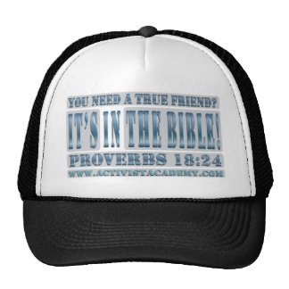 You Need A True Friend? Hats