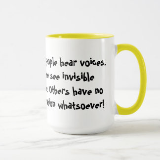 You need imagination and creativity! mug