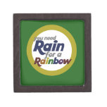 You Need Rain for a Rainbow Premium Jewelry Boxes