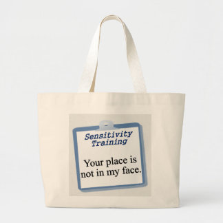You need to get out of my face tote bag