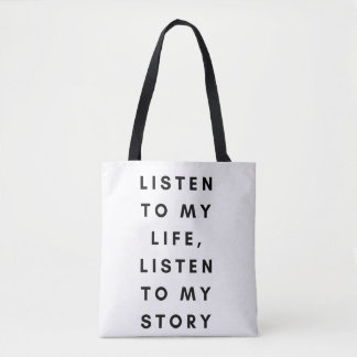 You Need To Know Me Slogan Tote Bag