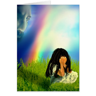 You Never Cry Alone Card