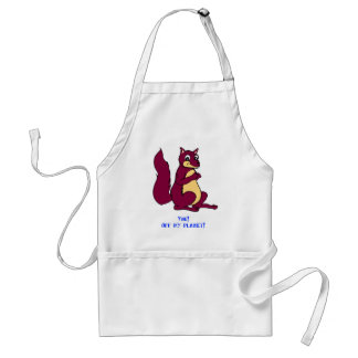 You! Off my planet! Adult Apron