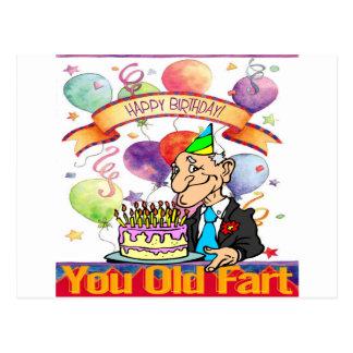 You Old Fart Postcard