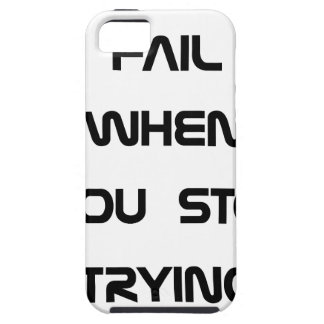 you only fail iPhone SE/5/5s case