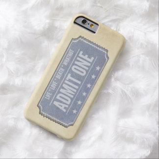 You only get one.  Don't waste it. Barely There iPhone 6 Case