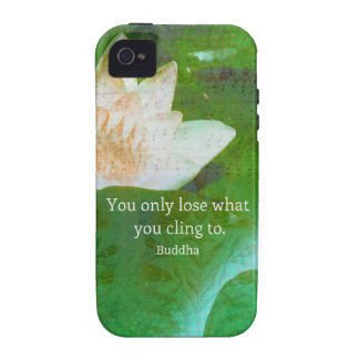 You only lose what you cling to Buddhism quote iPhone 4/4S Case
