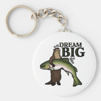 You Otter Dream Big Keychain