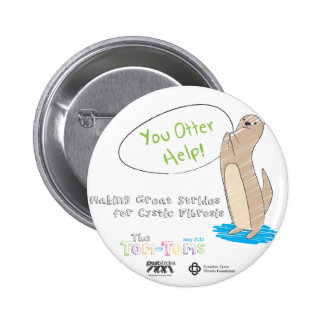 You Otter Help! Pinback Button