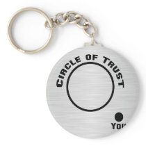 You Outside the Circle of Trust Keychain