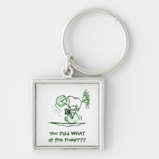 You Paid WHAT at the Pump Keychain