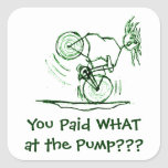 You Paid WHAT at the Pump??? Sticker