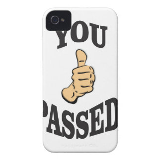 you pass the test yeah iPhone 4 Case-Mate case