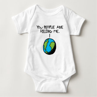 YOU PEOPLE ARE KILLING ME BABY BODYSUIT