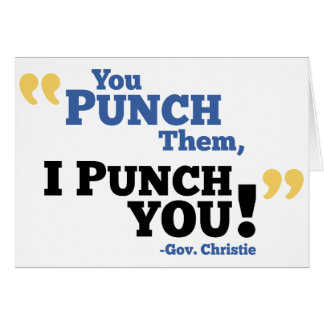 You Punch Them, I Punch You! Card