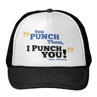 You Punch Them, I Punch You! Trucker Hat