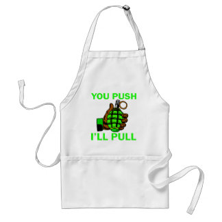 You Push Ill Pull Aprons