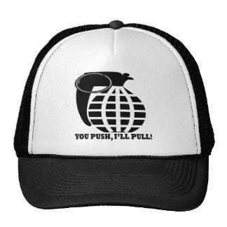 You Push Ill Pull Mesh Hat