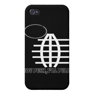 You Push Ill Pull Cover For iPhone 4