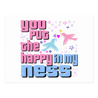 You Put The Happy In My Ness Postcard