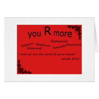 you r more greeting cards