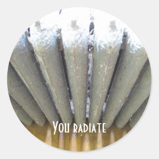 You Radiate Classic Round Sticker