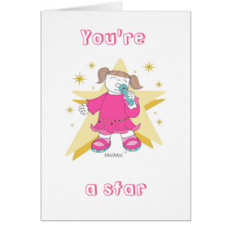 """""""YOU'RE A STAR IN YOUR OWN LIFE""""  Card"""