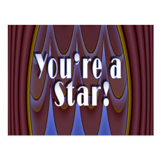 You re a Star Post Card