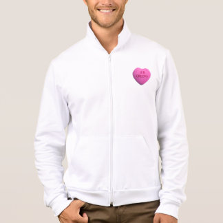 You're Creepy Pink Candy Heart Jacket