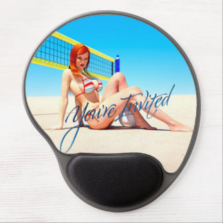 You re Invited Belle Gel Mousepad