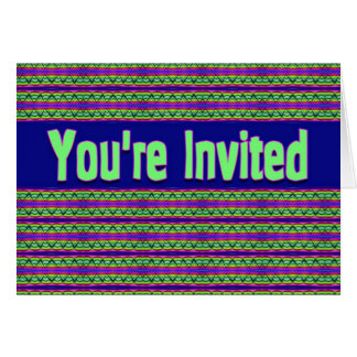 you' re invited card