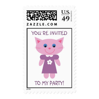You´re invited to my party! stamps