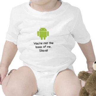 You re not the boss of me Steve Tee Shirts