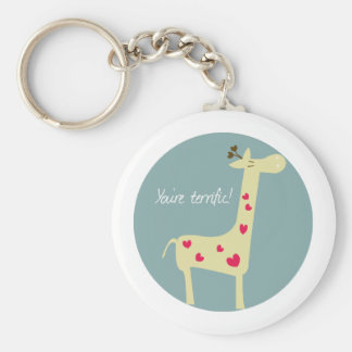You re terrific keychains